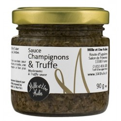 Sauce champignons et truffe