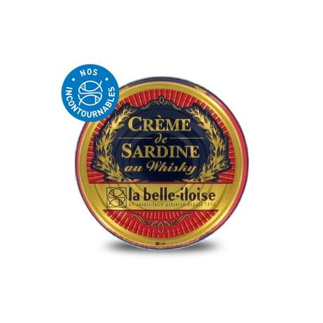 Crème sardine whisky