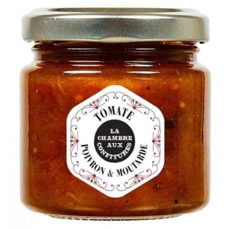chutney de tomate poivron moutarde la chambre aux confitures. Black Bedroom Furniture Sets. Home Design Ideas