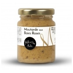 Moutarde aux Baies roses