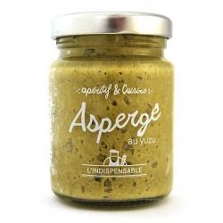 Crème asperge yuzu