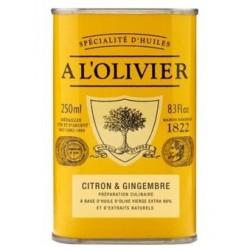 Huile d'olive Citron & Gingembre