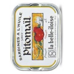 Sardines à la sauce Pitomail