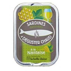 Sardines chaudes à la Nantaise (vin blanc et aromates)