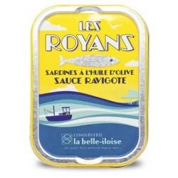 Sardines Les Royans sauce ravigote