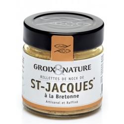 Rillettes aux Noix de St Jacques à la bretonne