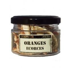Oranges écorces