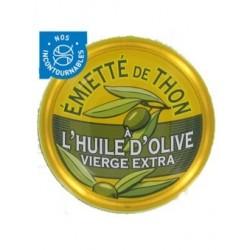 Emietté de thon à l'huile d'olive