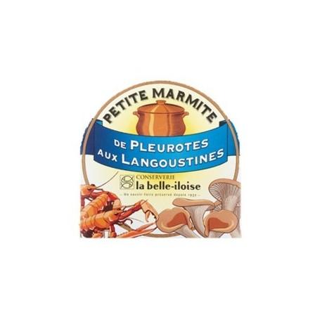 Petite marmite de pleurotes aux langoustines
