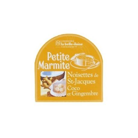 Petite marmite noisettes de St-Jacques coco et gingembre