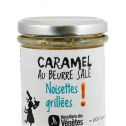 """Caramel au beurre salé """"noisettes grillées"""""""