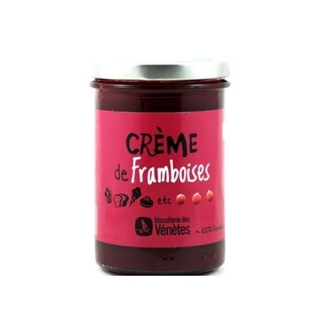 Crème de framboises