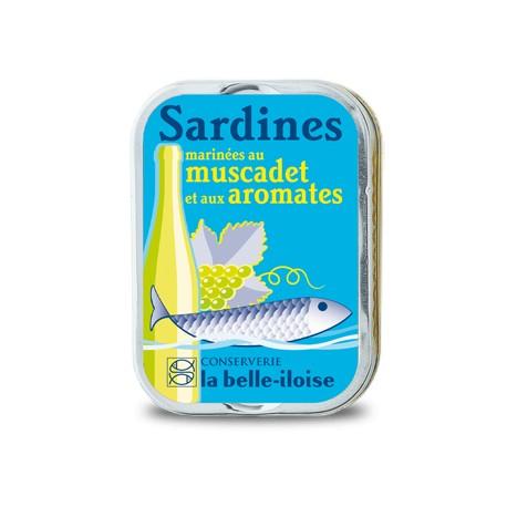 Sardines marinées au muscadet et aromates
