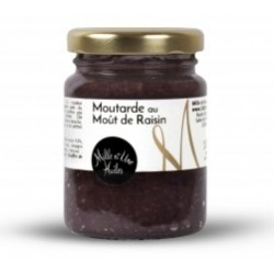 Moutarde moût raisin