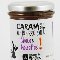 """Caramel au beurre salé """"chocolat & noisettes"""""""