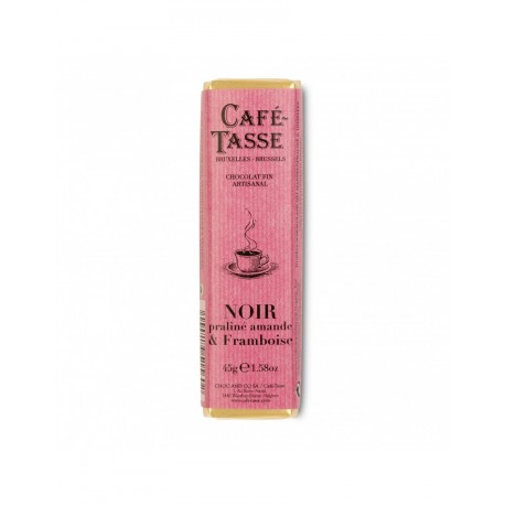 Chocolat Noir - praliné amandes & framboise