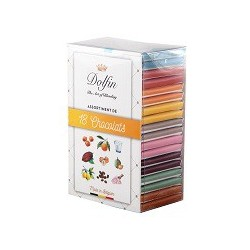Dolfin Carrés Gourmands Assortiments 18 chocolats