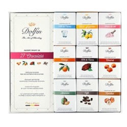 Dolfin Carrés Gourmands Assortiments 27 chocolats