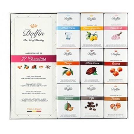 Dolfin Carrés Gourmands Assortiments 27 chocolats