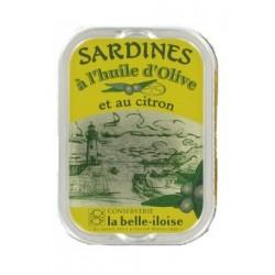 Sardines à l'huile d'olive & citron