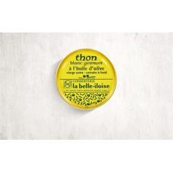 Thon blanc germon à l'huile d'olive  80 gr