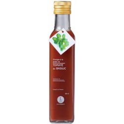 Vinaigre à la pulpe de tomate au basilic