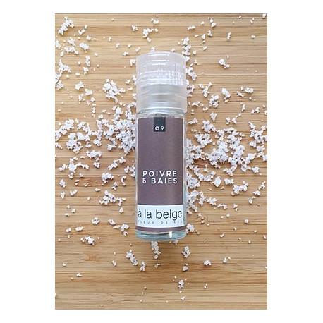Fleur de sel poivre 5 baies