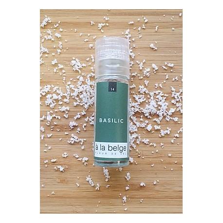 Fleur de sel basilic