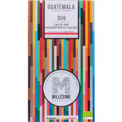 Millésime - Guatemala lacté  50% nougatine cacao 2019