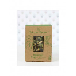 Super green Infusions bouillons chic des plantes