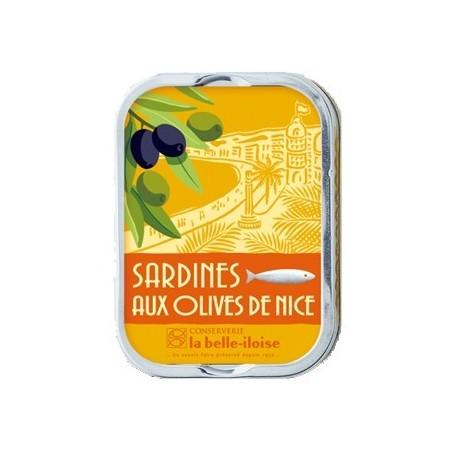 Sardines aux olives de Nice