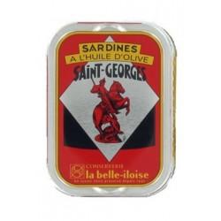 Sardines Saint Georges à l'huile d'olive