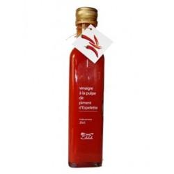 Vinaigre à la pulpe de piment d'Espelette 250ml