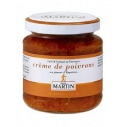 Crème poivron espelette