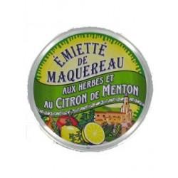 Emietté de maquereau aux herbes et au citron de Menton