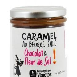 "Caramel au beurre salé ""chocolat & fleur de sel"""